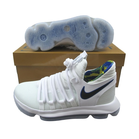 sports shoes 17696 bf16e Nike Zoom KD10 Limited Golden State Warriors Shoes NWT